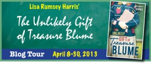 Treasure Blume Blog Tour Banner