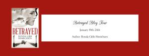 betrayed blog tour banner